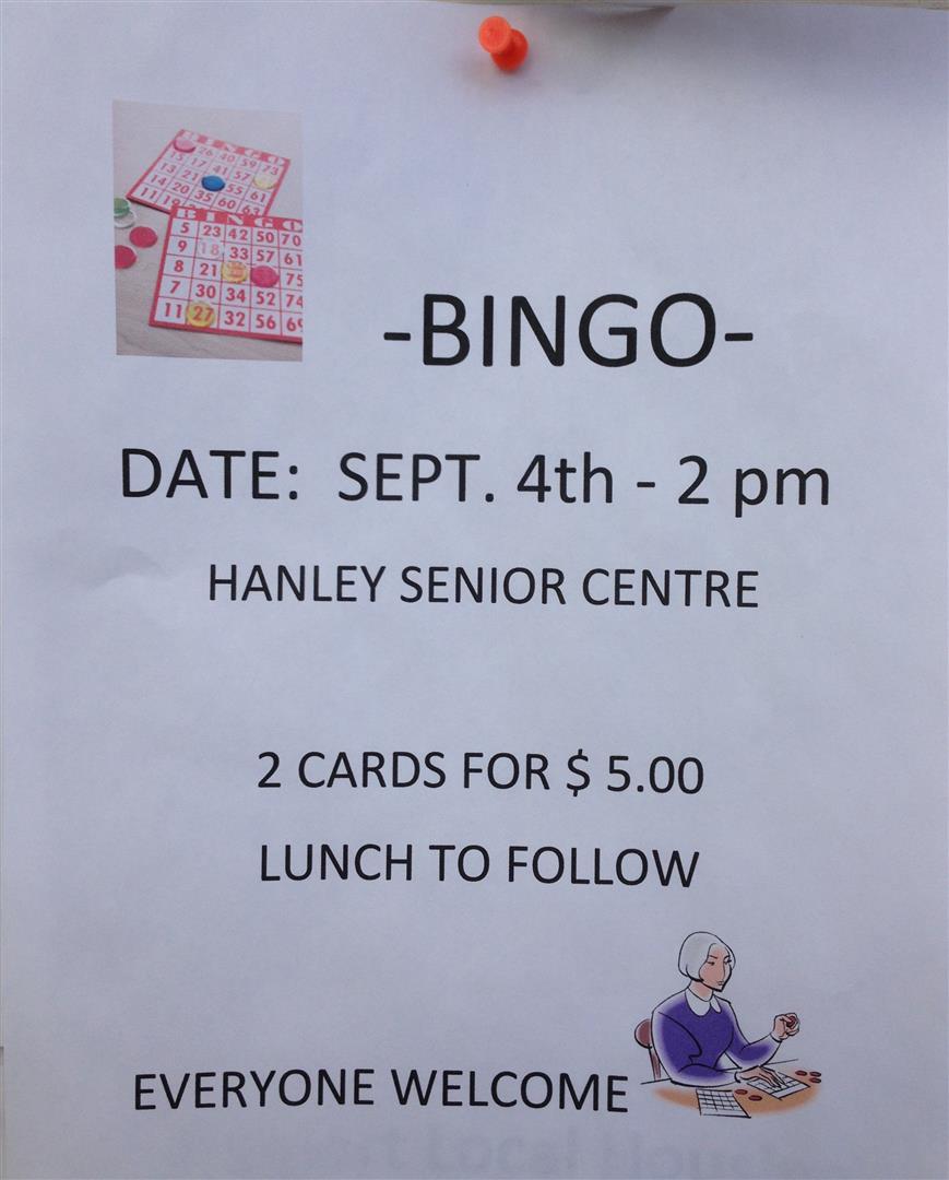 bingo - sep 14-2